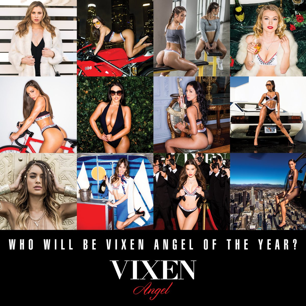Who will be the @Vixen Angel of the Year?
