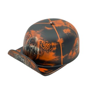 This lid gives you a bit of scooter trash 2.0 in a way that you will enjoy with a classic skeleton and a Doughboy 2.0 frame. Scooter Trash Helmet   Scooter Trash Design   Skeleton Motorcycle Helmet   Designer Helmet   Custom Motorcycle Gear   Hat Helmets for Men   Hat Helmets for Women   Womens Riding Gear   Riding Gear for Men #motorcyclegear #designerhelmet