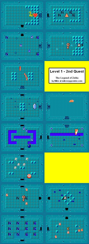 Legend Of Zelda Map Quest 1 : legend, zelda, quest, Legend, Zelda, Overworld, Quest, Catalog, Online