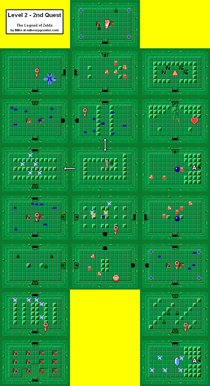 Legend Of Zelda Level 2 : legend, zelda, level, Legend, Zelda, Level, World, Atlas