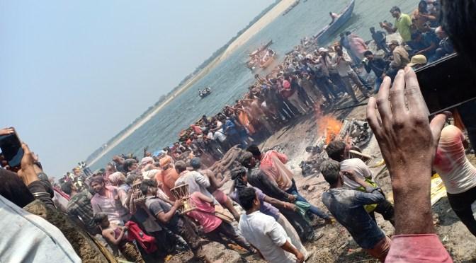 Arrival to Varanasi: Fall 2014