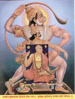 hanuman, bhima, madhva