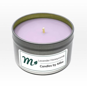 Lavender Honeycomb Candle