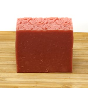 Rose Soap Bar featuring brazilian pink clay
