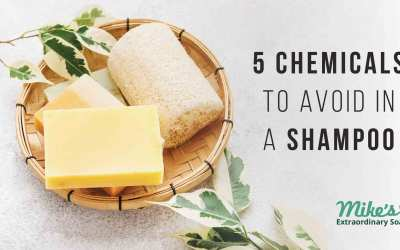5 Chemicals to avoid in Shampoo and Shampoo Bars