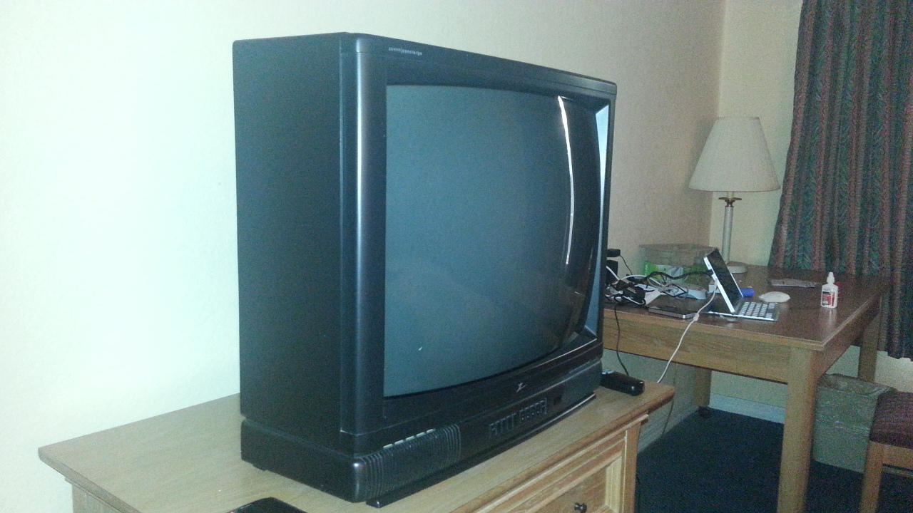 25 Zenith Concierge H2534Y CRT Hotel TV  Mikester The Guy