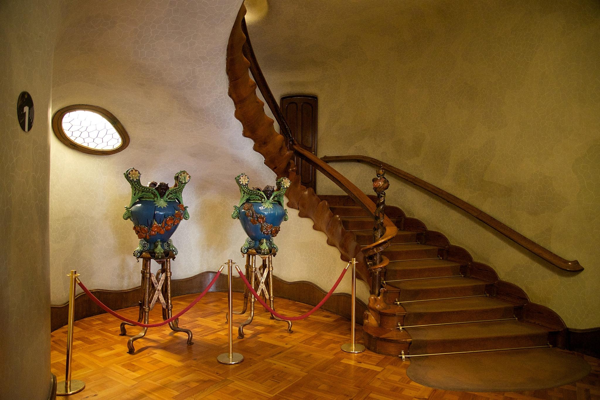 Casa Batllo Grand Stairway  mikestravelguidecom