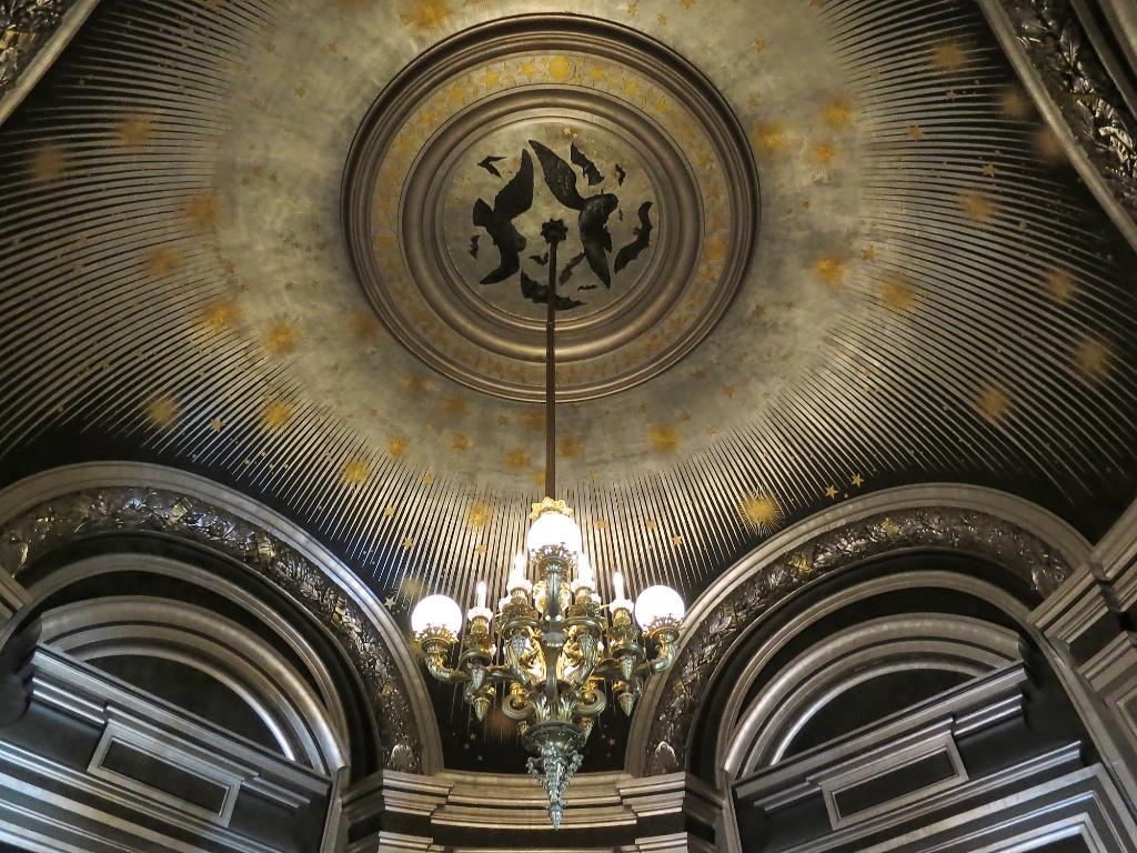 Salon de la Lune Palais Garnier Paris France  mikestravelguidecom