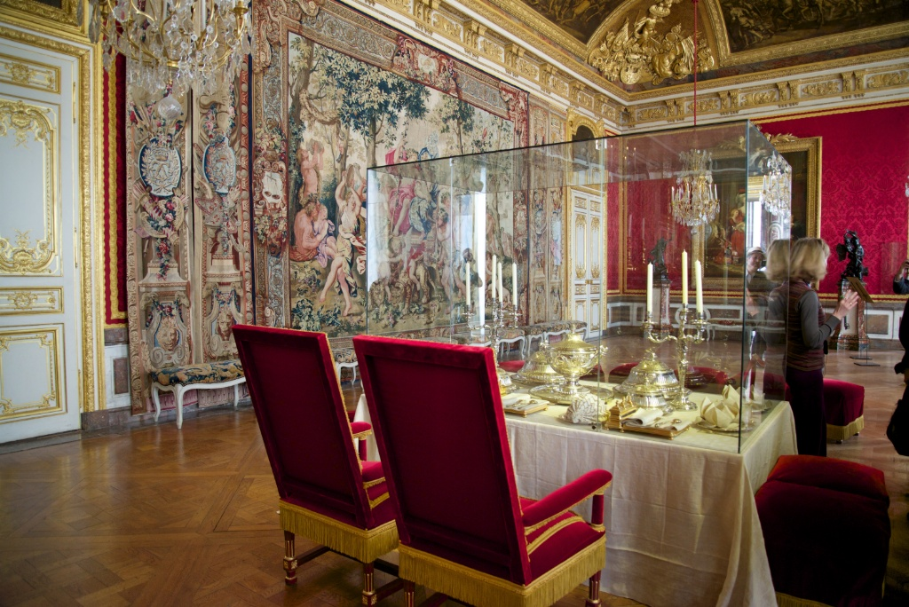 Antechamber For Grand Couvert Chateau De Versailles France