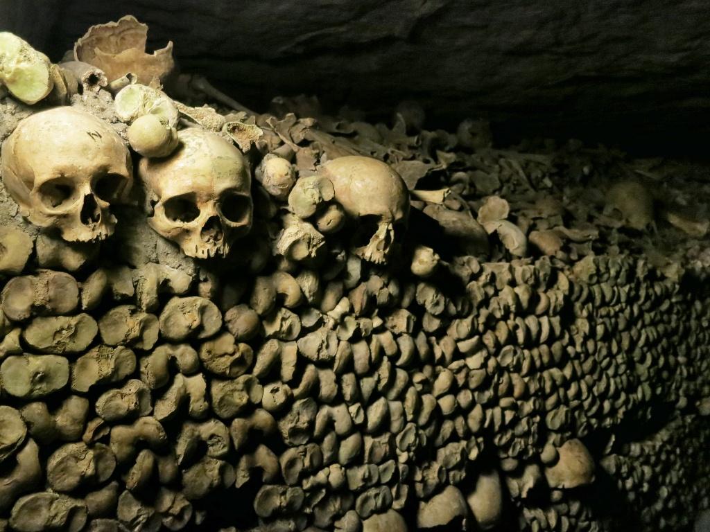 New Orleans Wallpaper Hd Wall Of Bones Catacombs Paris France Mikestravelguide Com