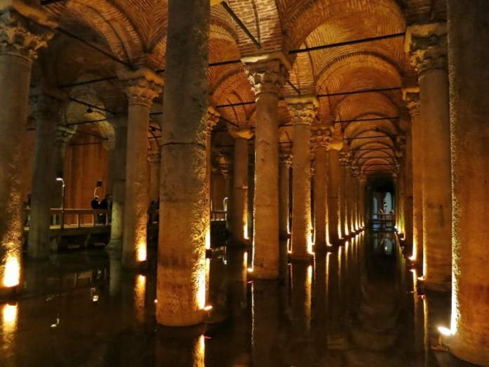 Things to do in Istanbul – Visit the Underground Cistern