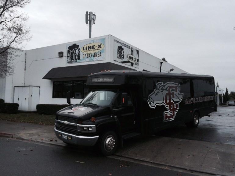 Santa Clara Team Bus back in service