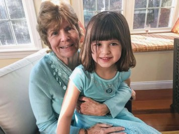 Grammie and Ally
