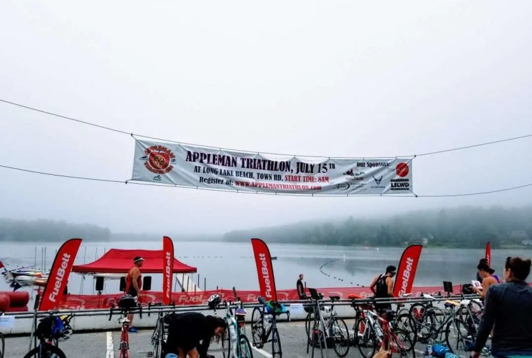 appleman sprint triathlon race recap