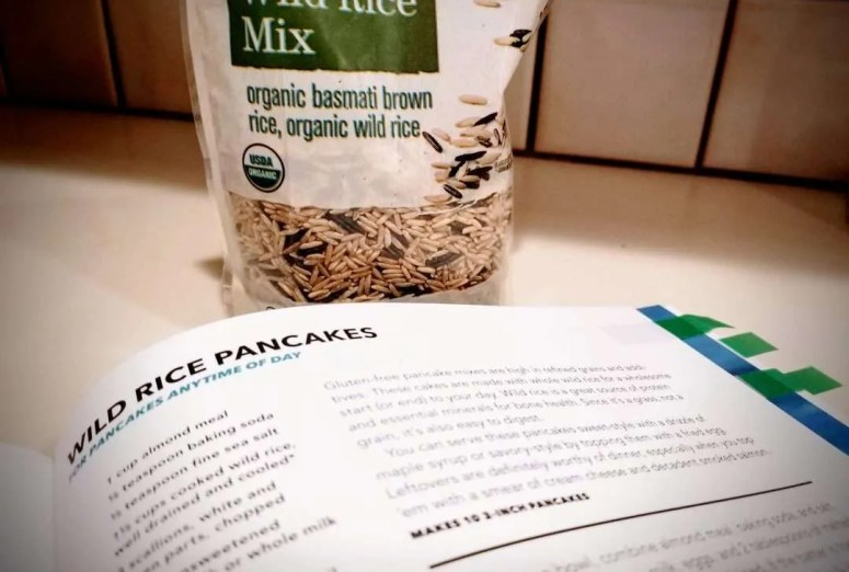 Run Fast. Cook Fast. Eat Slow: Wild Rice Pancakes recipe