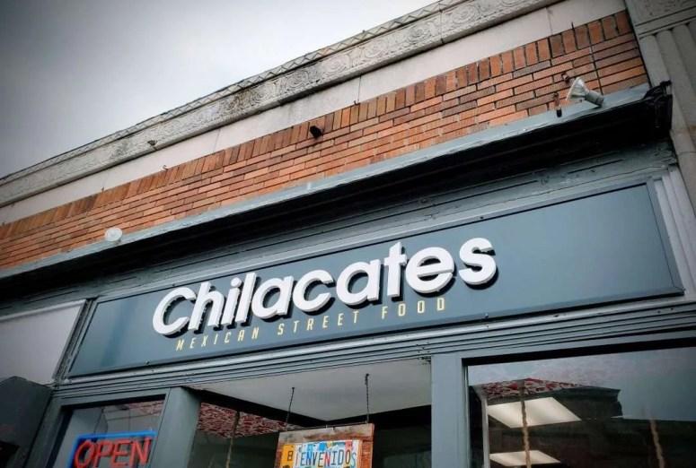 Chilacates on Centre St. in Jamaica Plain