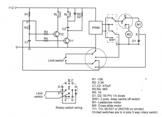 tb6560 wiring diagram for lathe speed control