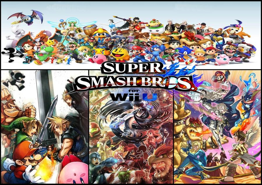 Smash Bros Poster