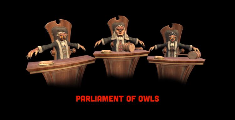 parliamentofowls