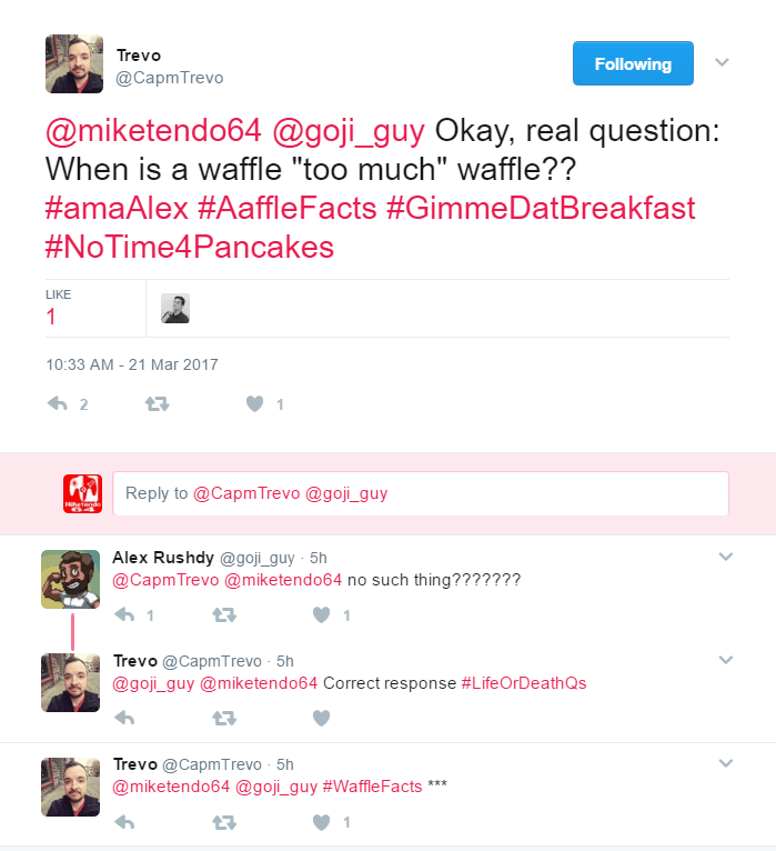Too Much Waffle