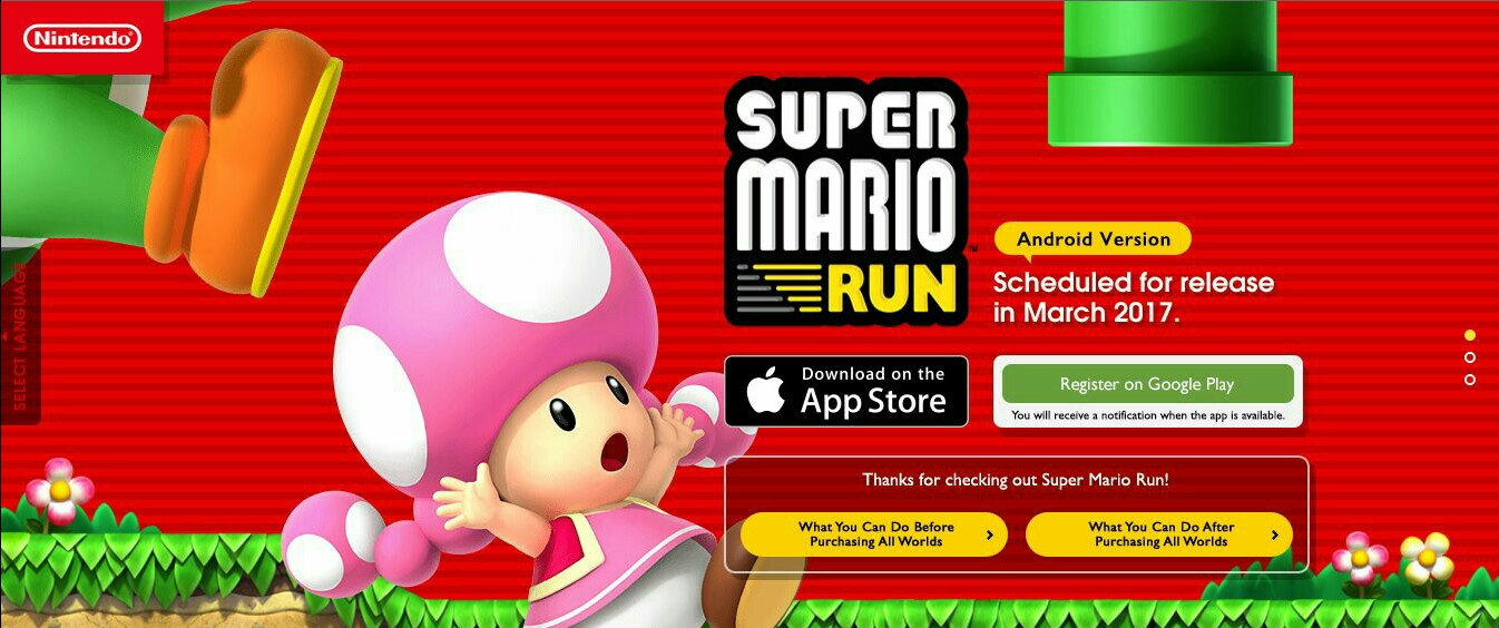 super mario run has