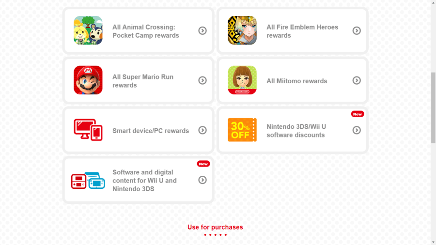 Nintendo Switch Rewards