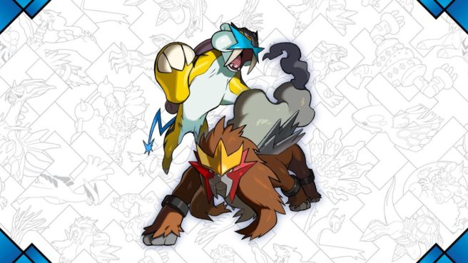 Entei And Raikou Pokemon Distribution