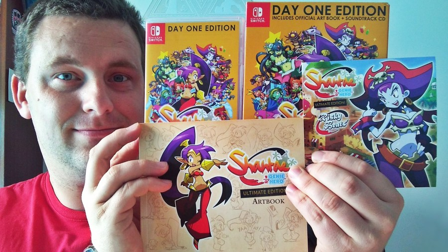 Shantae: Half-Genie Hero Day One Edition Unboxing