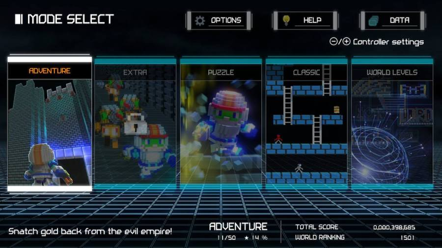 Nintendo Switch Lode Runner Legacy Review Miketendo - Design your own character games