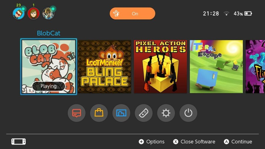 BlobCat Switch review