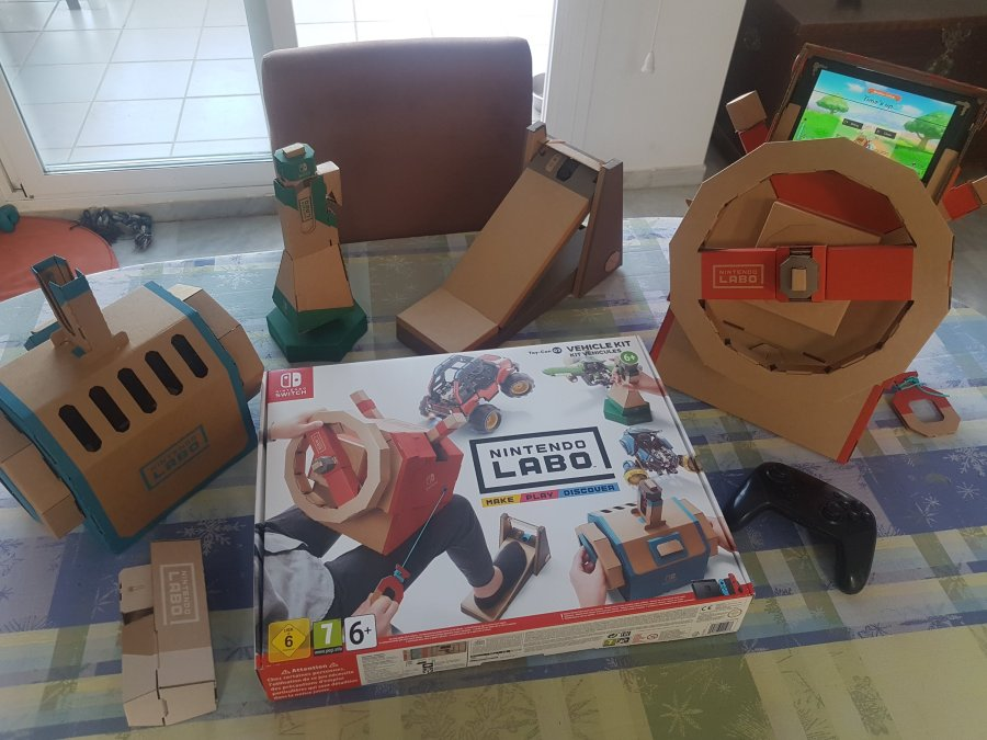 Nintendo Labo vehicle kit review