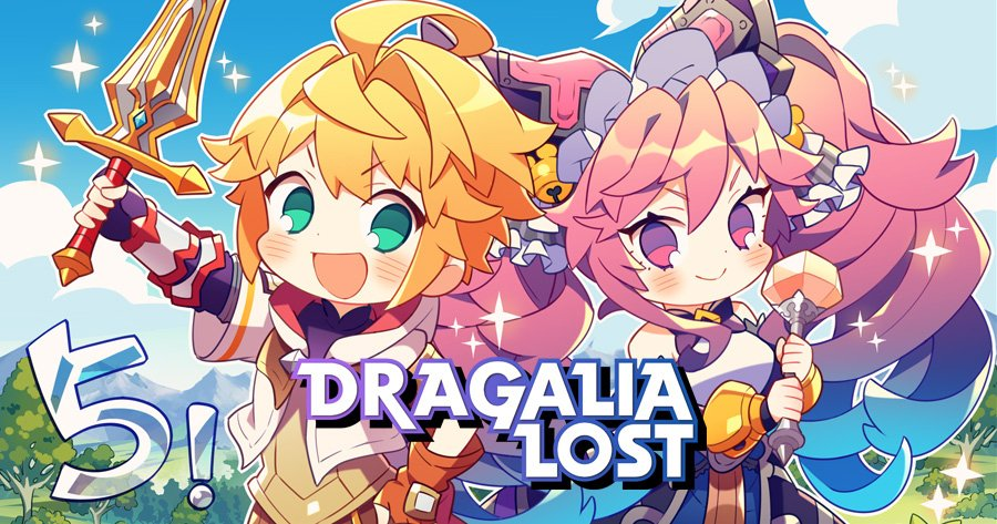 Dragalia Lost voice cast dragons characters