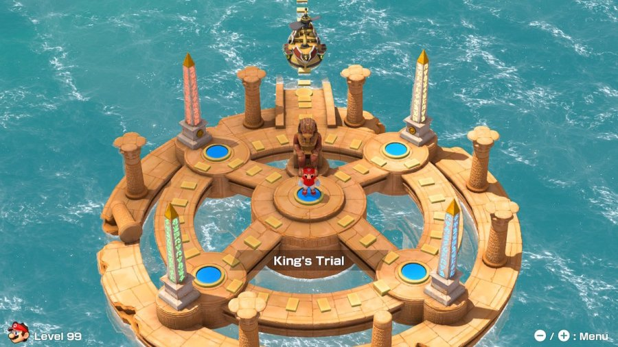 Mario Tennis Aces adventure mode