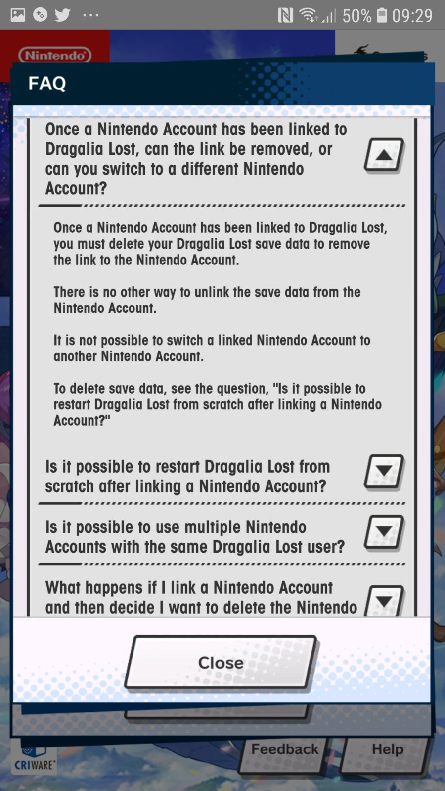 Word Of Warning Regarding Playing Dragalia Lost In Territories The Game Has Not Released In Miketendo64