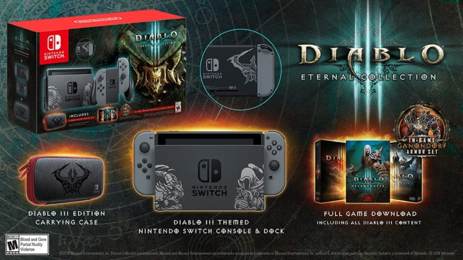 Diablo III switch bundle