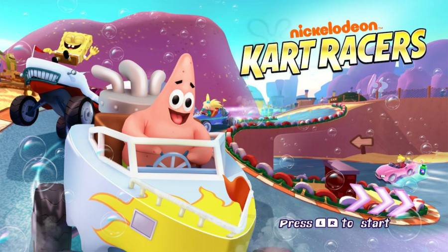 Nickelodeon Kart Racers switch review