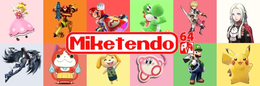 Character Banner Miketendo64