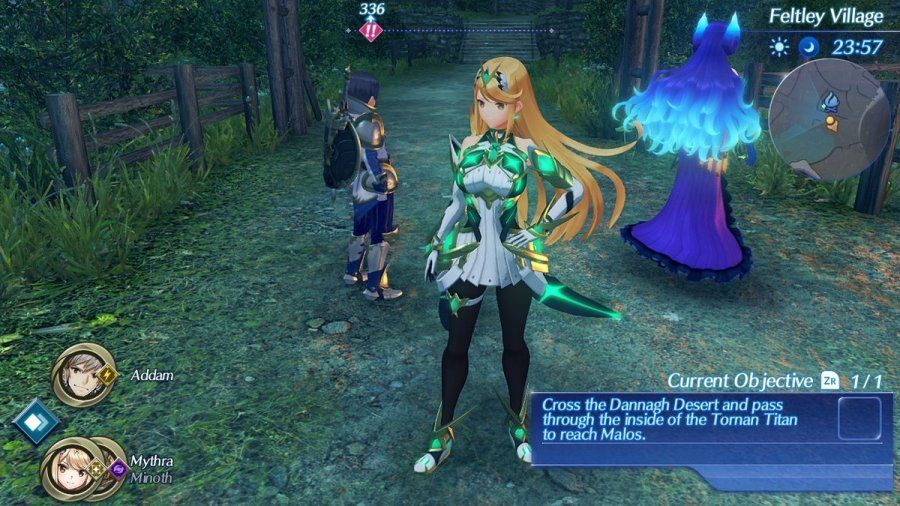 Smash Bros Mythra outfit guide