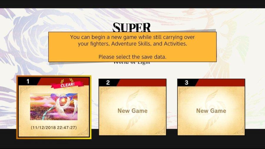 World of Light New Game+