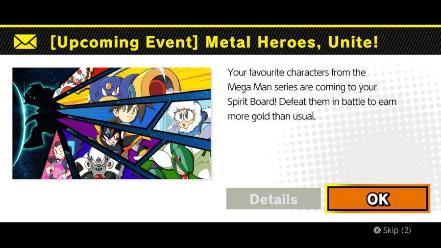 Metal Heroes, Unite! Spirit Board Event