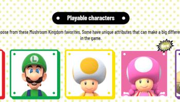 Super Mario Bros Wii U Deluxe Switch