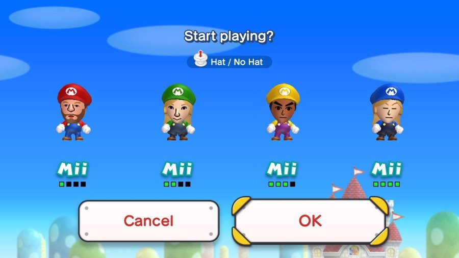 Guide] Playing with Miis in New Super Mario Bros  U Deluxe