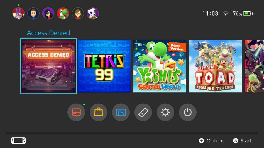 Access Denied nintendo switch review