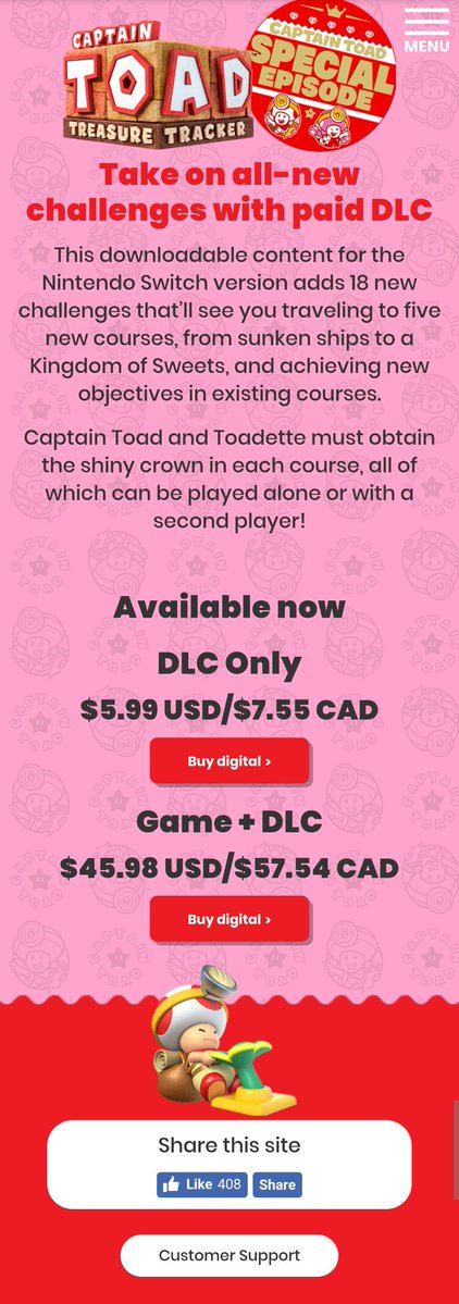 Captain Toad Super Crown