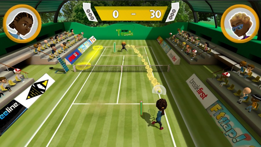 Instant Tennis switch review