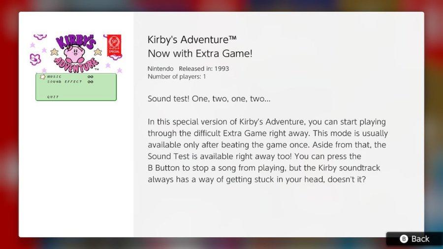 Kirby's Adventure SP