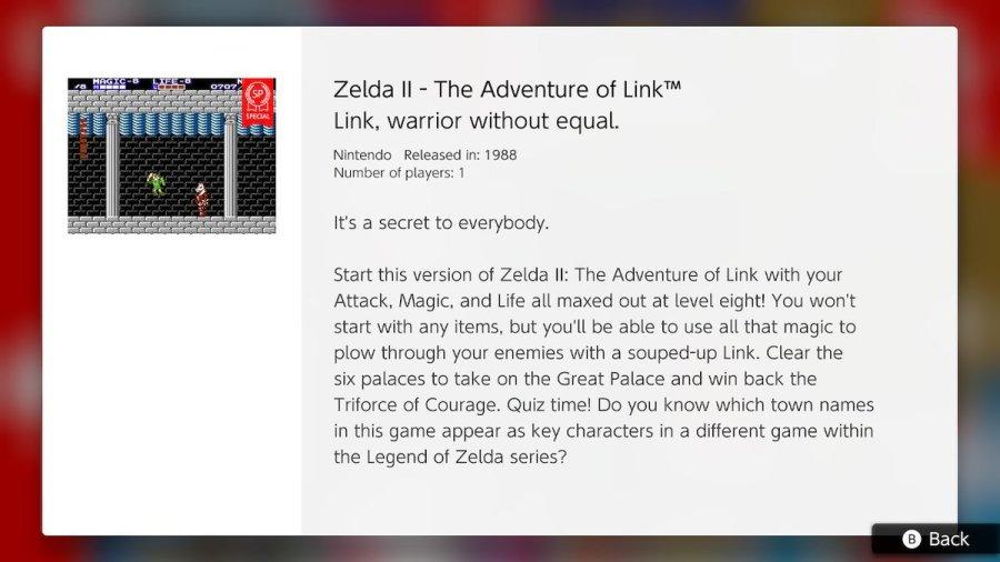 Zelda II SP