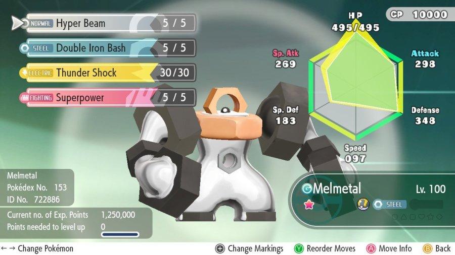 Melmetal Master guide