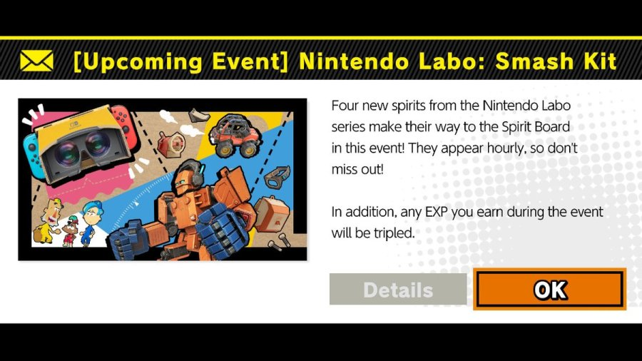 Nintendo Labo: Smash Kit Epirit Event