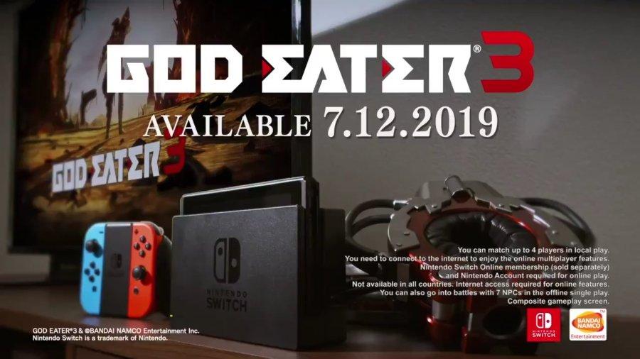GOD EATER 3 switch
